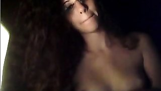 shy babe 1st time above cam