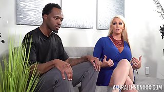 nothing is better be advisable for horny black dude than Alura Jenson's wet pussy