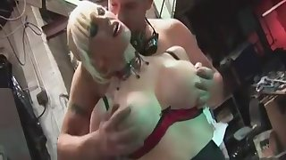 Danny D & Rebecca Moore In Hardcore Anal Group Sex