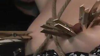 Sasha Ancient crazy BDSM porn video
